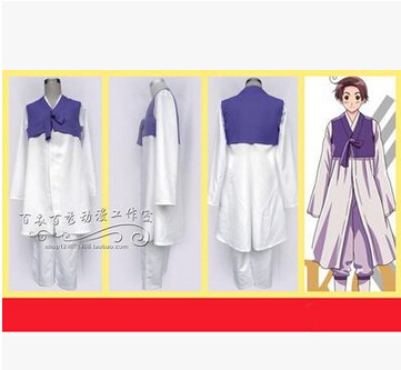 Free shipping Axis Powers Hetalia Republic of Korea Im Yong Soo Anime Cosplay Costume