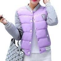 New Fashion Winter Jacket Woman Uniform Warm Jackets Women Parka Down Coat Cotton Female Parkas Women