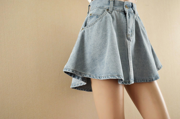 skirt 2014 new arrive american apparel a line denim