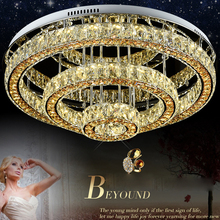 Morden fashion Crystal LED chandelier luxury crytal ceiling lamp light for hotel bedroom Crystal Lustre Light