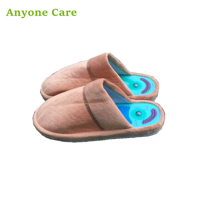 2017 new cotton slippers massager male female health care Taichi acupuncture feet massage slipper the treatment of erectile dysfunction prostate supplement health care slippers