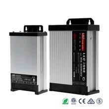 LED Driver 12 24 V Power Supply Adapter Lighting Transformers DC 12V 24V Power 5A 8A 10A 15A 20A Power Supply Outdoor Rainproof цена