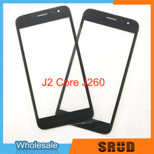 10pcs/lot Replacement Black Outer Glass With OCA Laminate Service For Samsung Galaxy J2 2015 J200 Pro 2018 J250 Core J260 oem 10pcs lot 2015