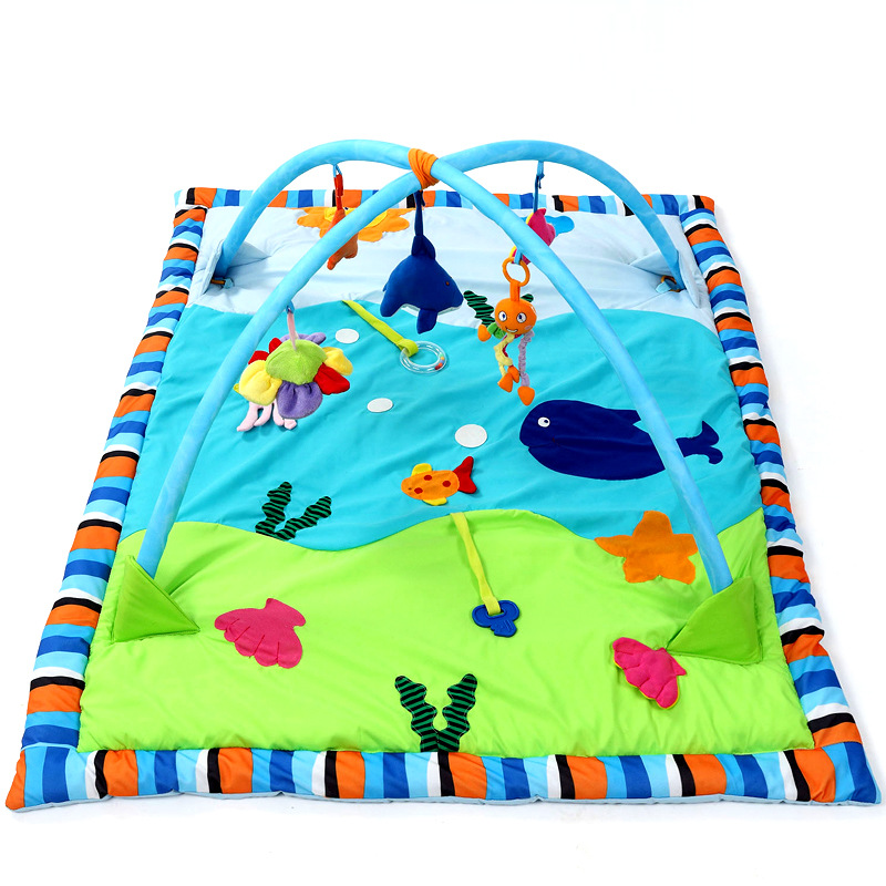 Baby Gym Activity Playmat Large Ocean Cotton Infants Game Blanket Baby Play Gym Play Mat Fitness Bundle Toys Activity Play MatBaby Gym Activity Playmat Large Ocean Cotton Infants Game Blanket Baby Play Gym Play Mat Fitness Bundle Toys Activity Play Mat