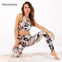BlackArachnia 2019 Women Yoga Sets Bra Fitness Suit Gym Wear Workout Clothing Running Leggings Sport Wear Sport Suits Yoga Pants