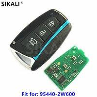 3BT Car Smart Remote Key For Hyundai Santa Fe IX45 Vehicle Alarm 433 9MHz ID46 7952