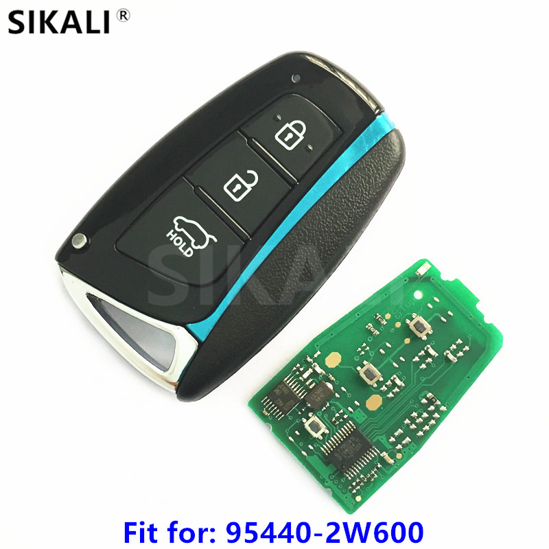 3BT Car Smart Remote Key for font b Hyundai b font Santa Fe IX45 Vehicle Alarm
