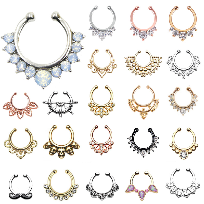 Clip On Septum Ring Wholesale