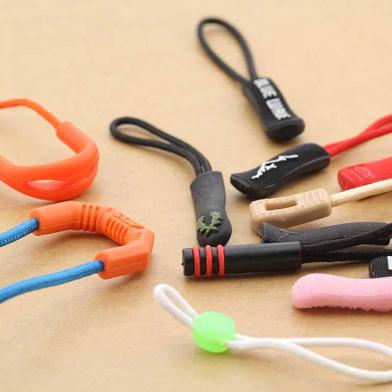 ขาย 10 ชิ้น/ล็อตสำหรับซิปแจ็คเก็ตเต็นท์อุปกรณ์เสริมกระเป๋าเป้สะพายหลังผ้าZipสายไฟเชือกซิป