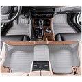 Envío libre de calidad superior de cuero esteras del piso del coche para bmw e39 520i 523i 525i 528i 530i 540i 5 serie 1995-2003