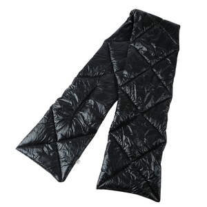 Image 5 - FOXMOTHER 2019 New Design Brand Winter Black Sliver Down Scarf Collar Neck Warmer Stuff Scarves Metallic Echarpe Women