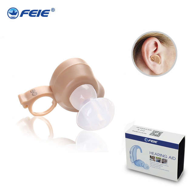 Invisible Earphone HEARING AID In-ear Microphone Hearing Aids for Deaf Headset Amplifiers Ear Instrument S-212 Adjustable tone