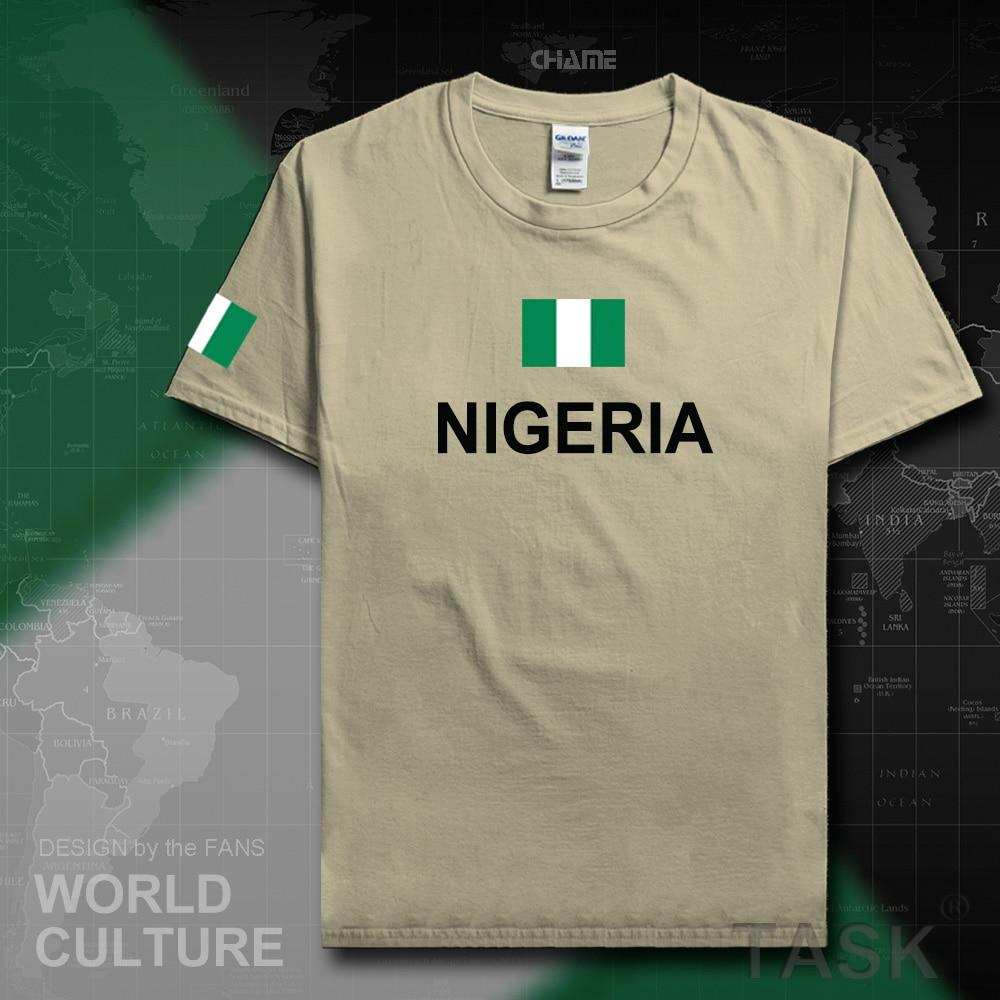 Shirt design in nigeria - Aliexpress Com Buy Nigeria Nijeriya Men T Shirts Jerseys Nation Sporting Nigerian 100 Cotton T Shirt Fitness Africa Clothing Tees Country Flags Ng From
