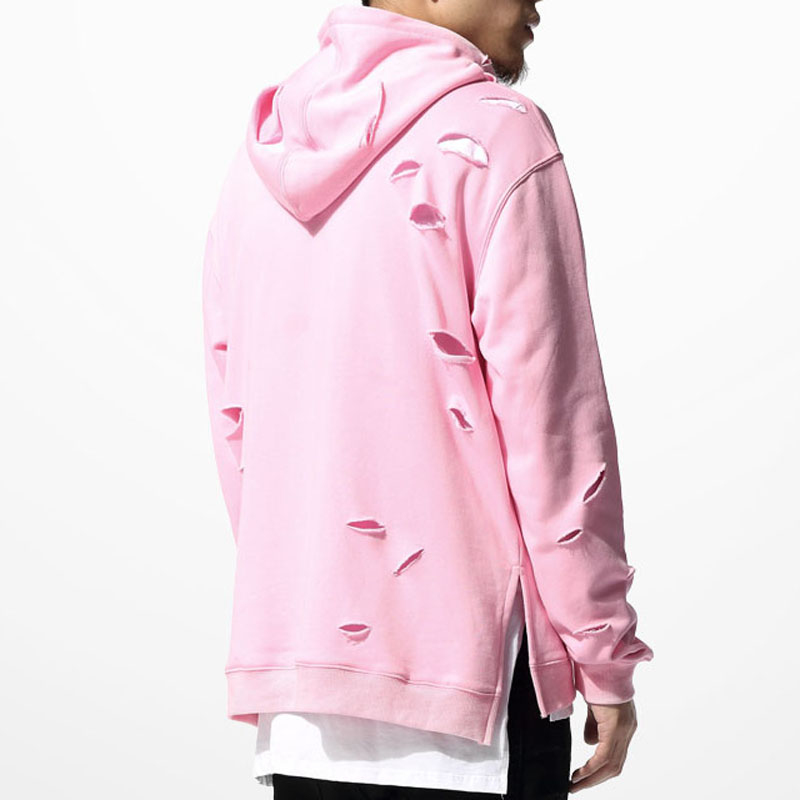 Men Pink Hoodie - Hardon Clothes