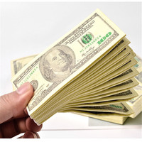 Everyfit paper towel Dollar $ 100 Bill Money Pocket Tissue Paper Napkins Joke Gift For Home Party, Kids Birthday Party 30 bags
