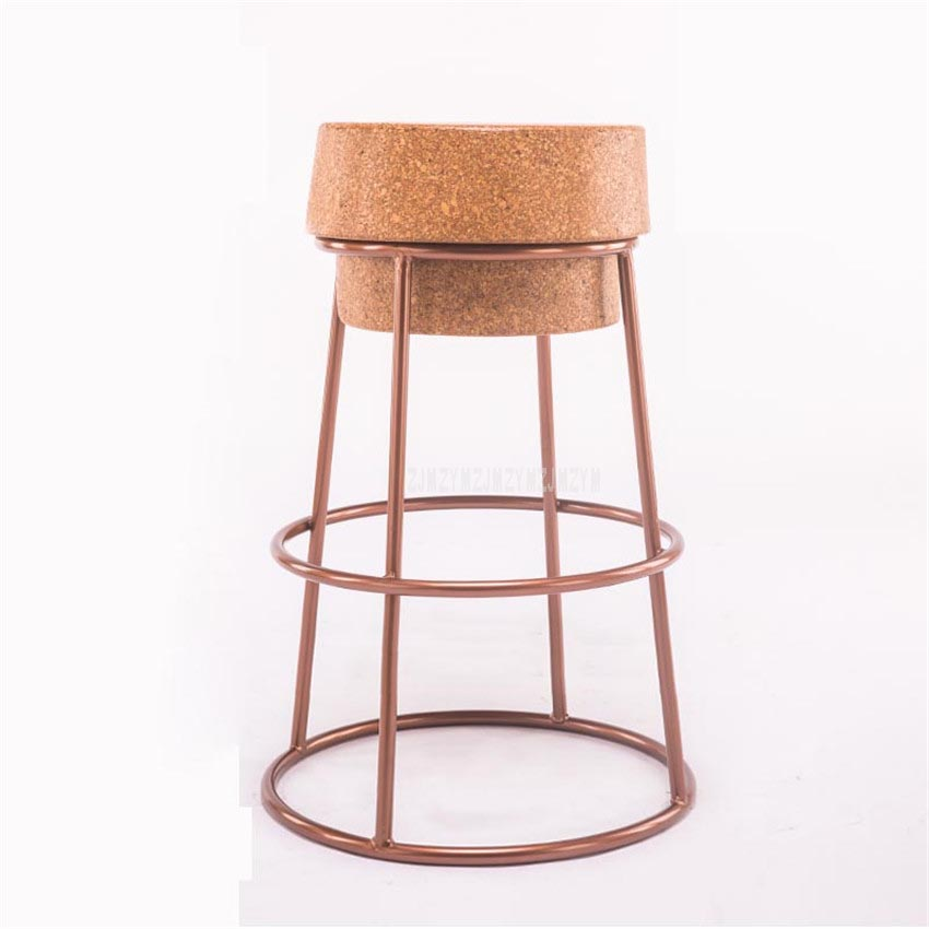 Wondrous Simple Modern Nordic Round Circle Bar Stool Soft Oak Wood Unemploymentrelief Wooden Chair Designs For Living Room Unemploymentrelieforg