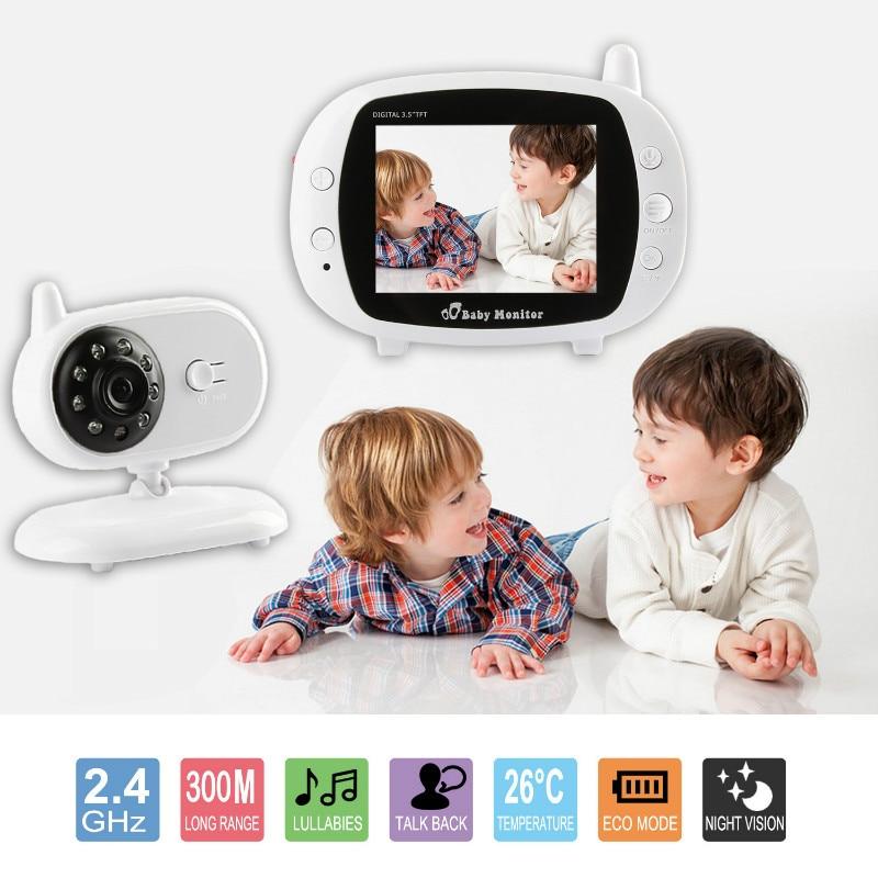 Baby sleep Monitor LCD Digital Display 2,4 GHz Signal Toveis Talk - Baby sikkerhet - Bilde 3