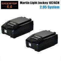 2 sztuk/partia Martin Light jockey USB1024 kontroler DMX  etap światła Martin lightjockey konsoli  light Jockey Dougle DMX oprogramowanie w Oświetlenie sceniczne od Lampy i oświetlenie na
