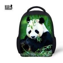 0de686b953bd2 HUE MASTER Panda Baskı Kitap Çantası Çocuk Çocuklar için 12 inç anaokulu  Okul Çantaları Kız Erkek