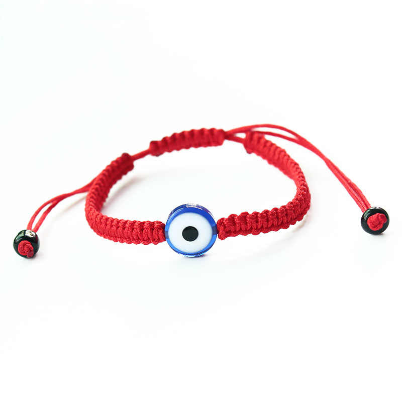 Fashion Two Fish Hamsa Evil Eye Charm Red String Rope Braided Thread Heart Bracelets For Women Men Lover Couple Mom Gift Jewelry