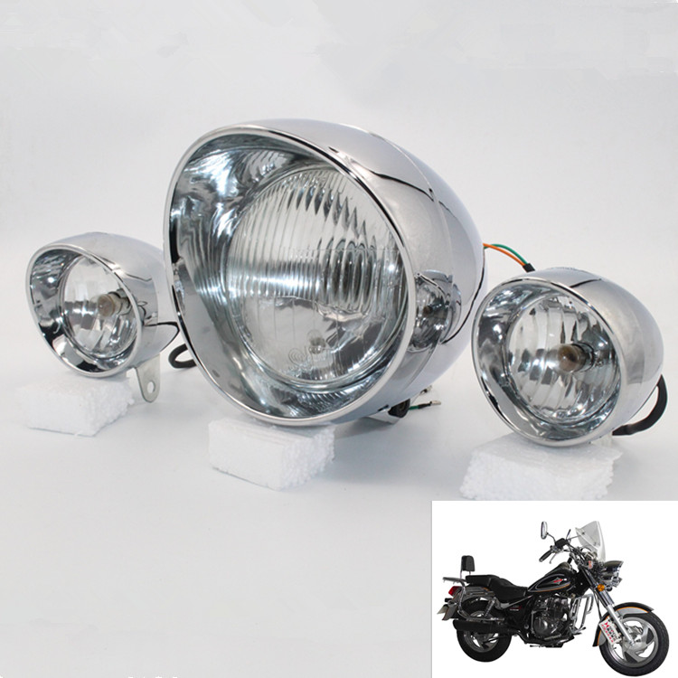 Motorcycle Headlight Assembly : Motorcycle headlight halley for car assembly