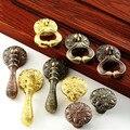 Pingente clássico Gaveta Maçanetas e Puxa, Móveis de Cozinha Armário Roupeiro Porta Único furo pequeno Puxadores e Maçanetas de Bronze Vermelho