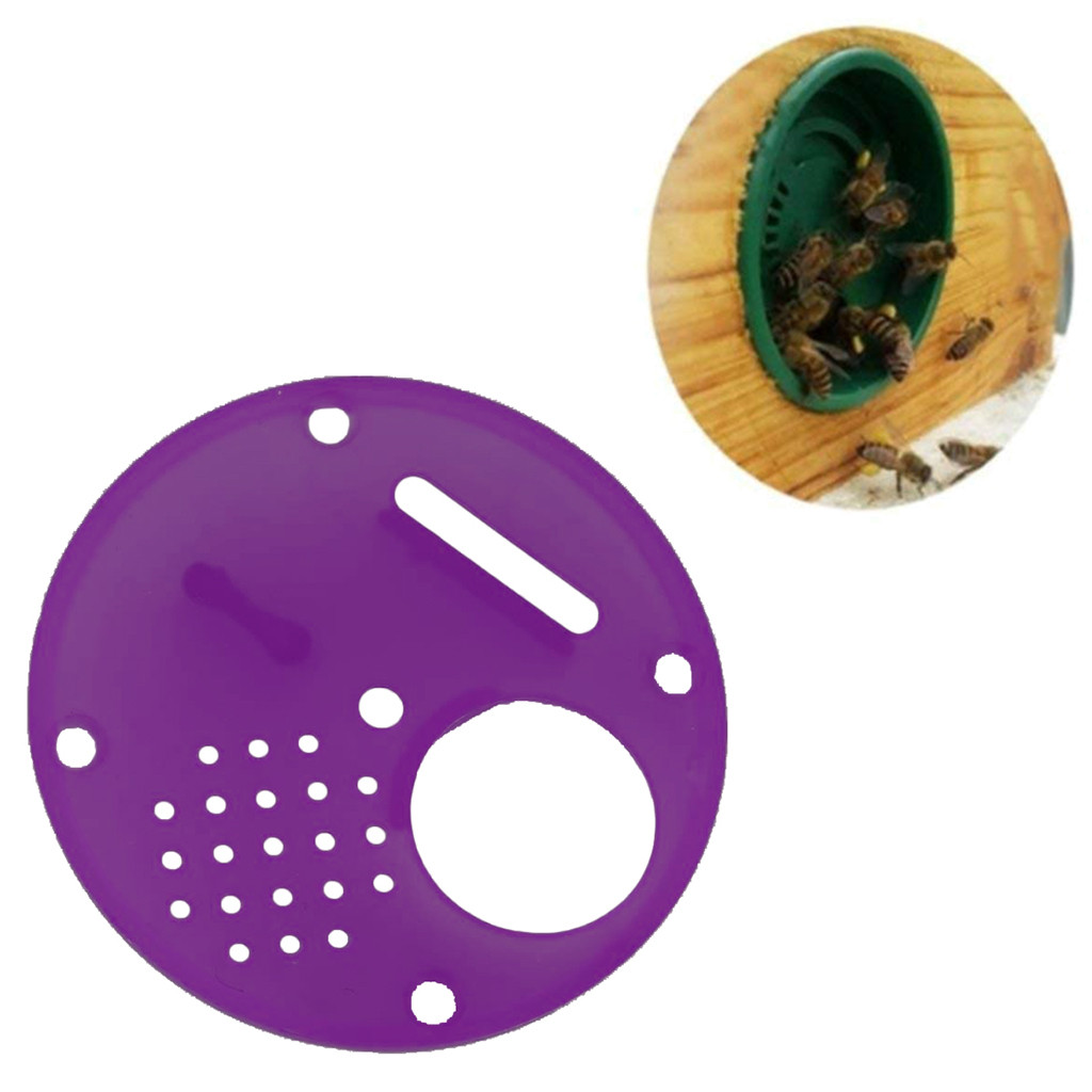 Image 3 - beekeeping supplies 20pc Plastic Bee Nest Door / Entrance Disc / Bee Hive Nuc Box Entrance Gate Tool Equipconvenient  product-in Beekeeping Tools from Home & Garden