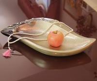 Adornos de Resina Pastoral americana Plato de Fruta Plato de Fruta Adornos Muebles Para El Hogar