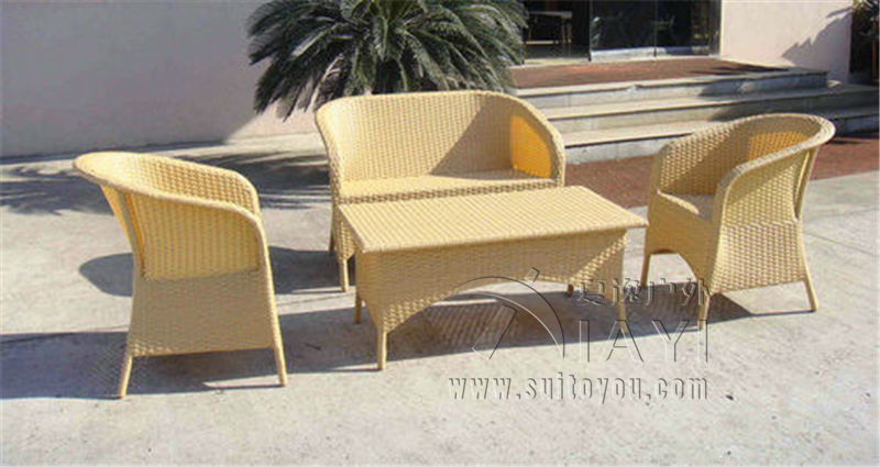 4-pcs Pastoralism Home Indoor / Outdoor Rattan Sofa For Living Room pastoralism and agriculture pennar basin india