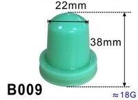 Cabezal de almohadilla de goma de silicona para máquina de impresión, base de madera de 22mm de diámetro
