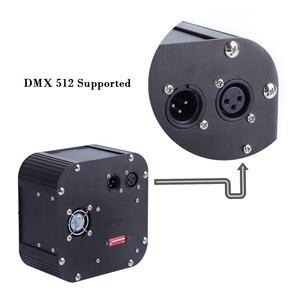 Image 4 - وميض الألياف البصرية مصدر الضوء 50 واط دعم DMX512 التحكم الألياف البصرية محرك الجهاز مع قابس DMX و جهاز التحكم عن بُعد بالتردادات الرادوية/ اللاسلكية