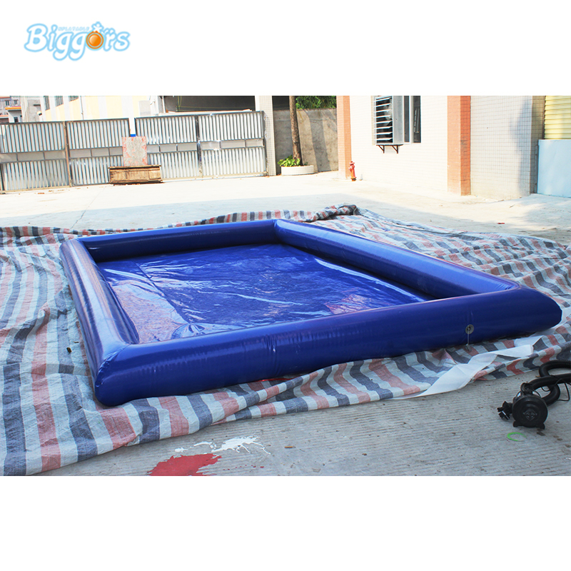 High quality Blue plato pvc Pool Inflatable swimming pool plato s dogs