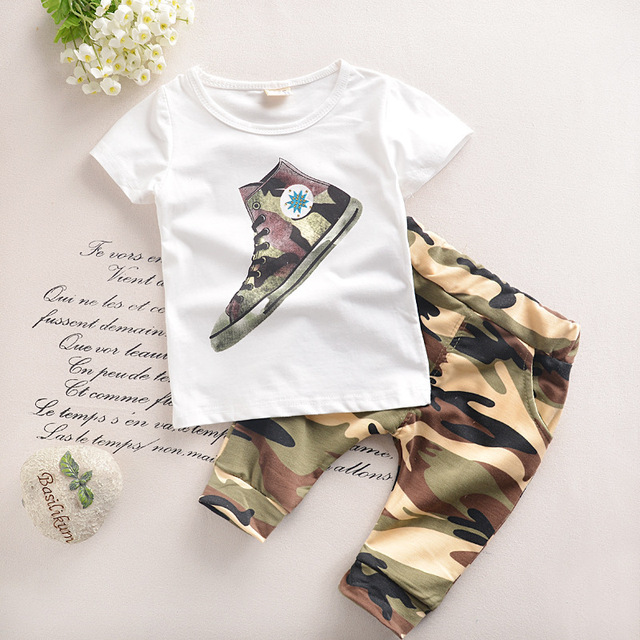 99599daec0f6 1 6 years Child Boy Clothes Summer New Fashion Kids Boys Clothes ...