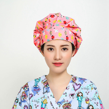 Mens/Womens Doctors/Nurses Print Pattern Scrub Caps Surgery Medical Surgical Hat/Cap Pet Doctor Nurse Dentist Scrub Caps/Hats