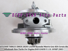 Turbo CHRA Cartridge GT1544V 740611 782403 740611-5002S 28201-2A400 For HYUNDAI Matrix Getz For KIA Cerato Rio D4FA D4FB U 1.5L