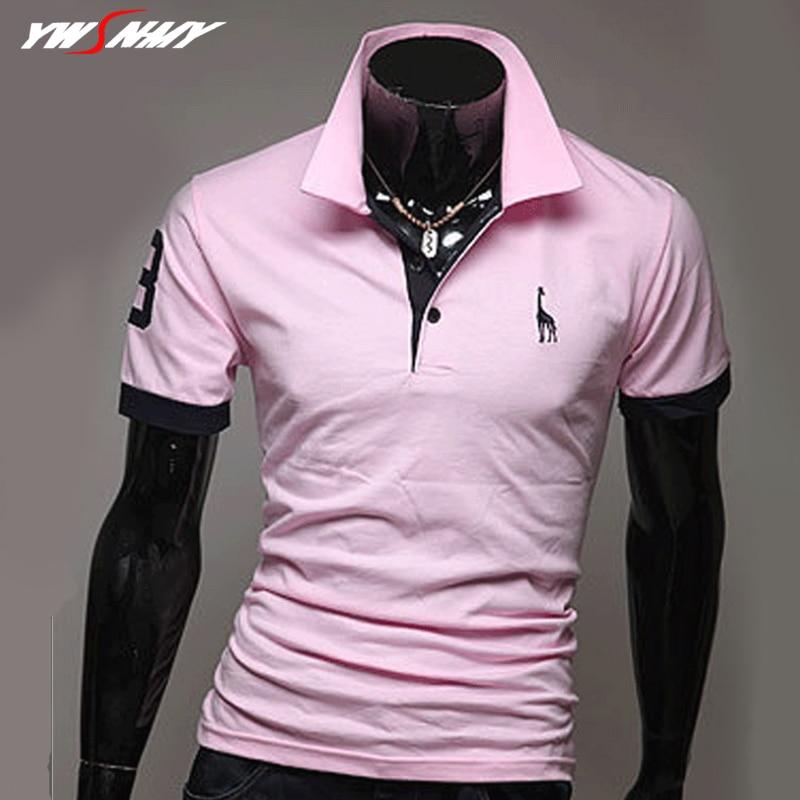 Men's   Polos   Shirt Fashion Brand Clothing Giraffe Printed Tees Men Casual Lapel Short Sleeve Kpop Male Hip Hop Funny   Polo   Shirts