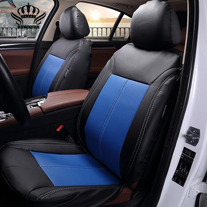 Neue Luxus Qualität PU Leder Auto Auto Sitzbezüge Autos Sitzbezüge für KIA lada lifan daewoo Hyundai SolarUniversal Fit