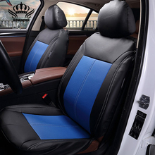 ROWNFUR Luxury PU Leather Auto Car Seat Covers Automobiles Seat Covers for KIA lada