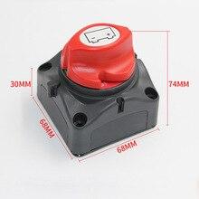 600A 12/24 В разъединения Батарея ручка переключатель Cut-off на Выкл Mini ERP автомобиля морской яхты электрические Запчасти