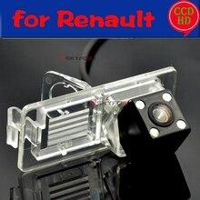 For Renault Megane 2 II 3 III Espace 4 Clio 3 Lutecia CCD Waterproof Car Camera reversing backup rear view camera