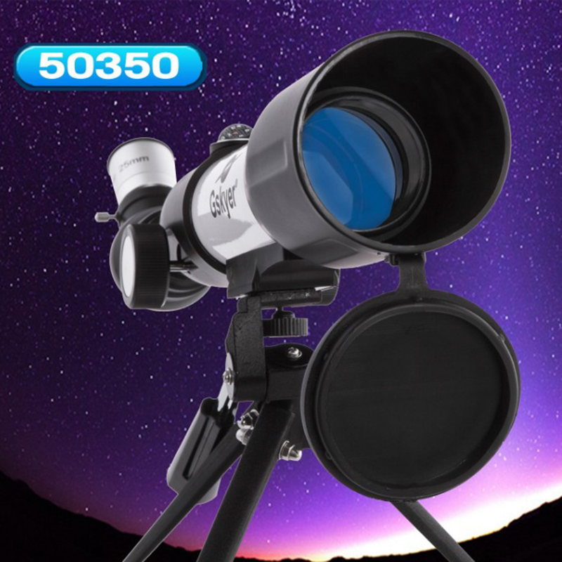 Gskyer Telescope AZ50350 German Technology Telescope Travel Refractor Astronomical Telescope for Kids beginners gskyer telescope 600x90mm az astronomical refractor telescope german technology scope power astronomical mirror telescope