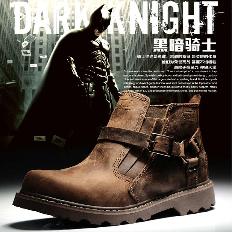 Aliexpress.com : Buy Genuine Leather Originals Buckle Martin Ankle ...