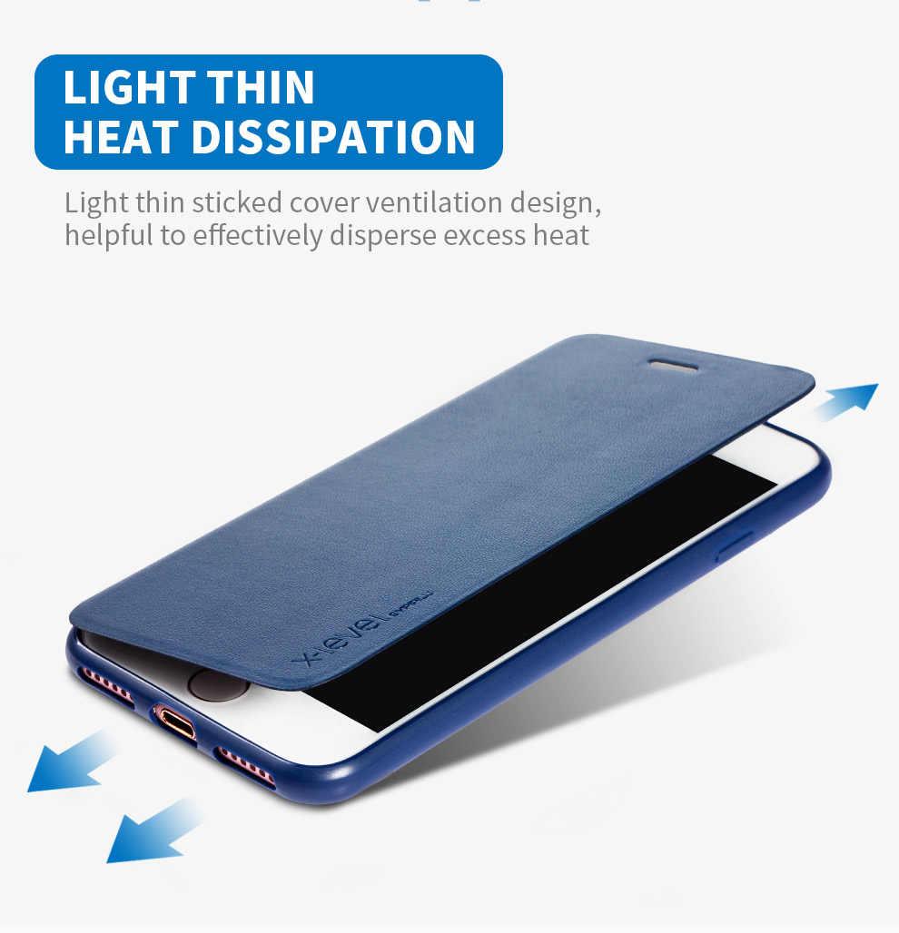หรูหราสำหรับ Apple iPhone XS Max XR X 6 6 S 7 8 Plus TPU หนังสือสำหรับ iPhone 8 7 6 s 6 Plus 8 Plus กรณีพลิก