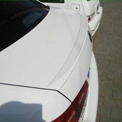 Dla Volkswagen VW Jetta Spoiler 2012 2013 2014 2015 tylne skrzydło samochodu dekoracji ABS z tworzywa sztucznego niepowtarzalny tylny spojler bagażnika