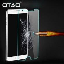 Закаленное Стекло-Экран Протектор Пленка Для Samsung A3 A5 A7 A8 A9 Note2 Note3 Примечание Note5 HD 9 H 2.5D 0.33 мм Анти Аварии 2 ШТ.
