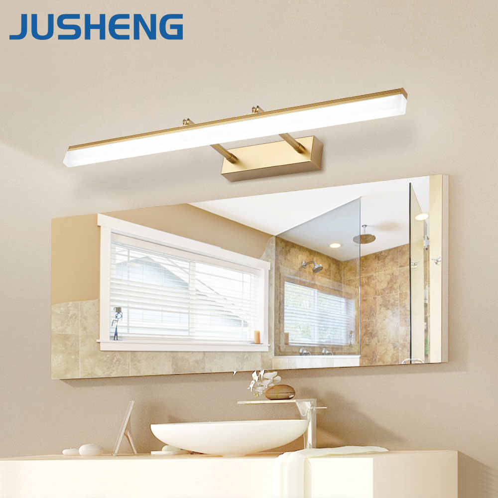 Jusheng Modern Bathroom Led Wall Lamp With Adjustable Beam Angle Over Mirror Sconces Lights Decor Wall Lighting Decorative Wall Lights Wall Lightwall Lamp Light Aliexpress
