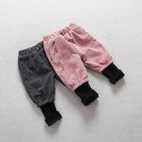 2016 ילדים בני אופנה מכנסיים פגיעת פעוטות עיצוב מעשה טלאים מקרית בנות ילדים בני בנות מכנסיים תינוק מכנסיים ספורט בגדים