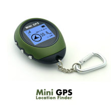 Mini Draagbare Handheld Keychain GPS Tracker G0077 GPS Tracking Tool Pathfinding Locator Kompas voor Outdoor Sport Travel(China)