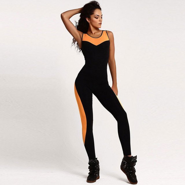Summer Skinny Jumpsuit Rompers Slim Elasticity Bodysuit Sexy Hollow Backless Bandage Full Playsuit Combinaison Femme Overalls