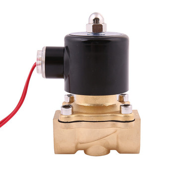 цена на Free Shipping 2018 New 1/4 1/8 1/2 3/4 1 1.2 AC220V DC12V/24V Electric Solenoid Valve Pneumatic Valve for Water Oil Air NC